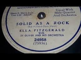 Solid As A Rock – Ella Fitzgerald